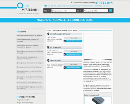 Maçon Arnouville lès Gonesse 95400