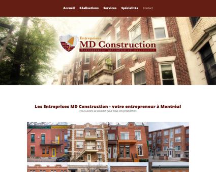 Entreprises MD Construction Montréal -...