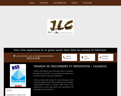 Maçonnerie  Deauville | JLC Jolivet