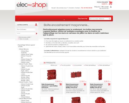 Accessoires d'installation électrique, boîte ...
