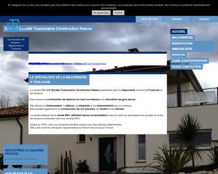 Maçonnerie (entreprises) - S.T.C.R Société...