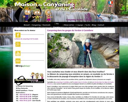Canyoning à Castellane dans les gorges du...