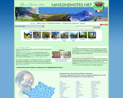 Gites ruraux - Chambres d'hôtes - Locations de...