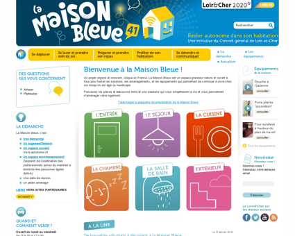 La Maison bleue 41 - Rester autonome dans...