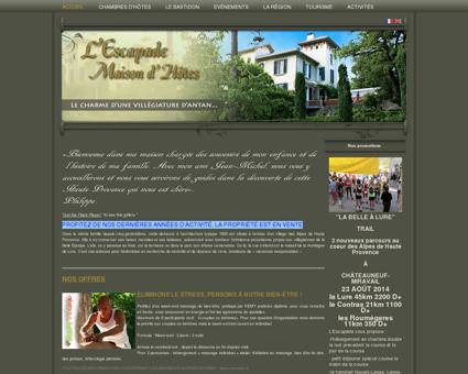 Maison d'hôtes de charme en Haute-Provence...