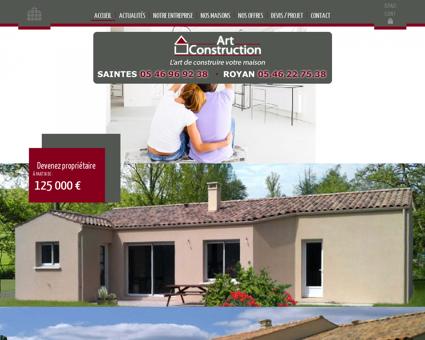Construction maison Charente Maritime 17...