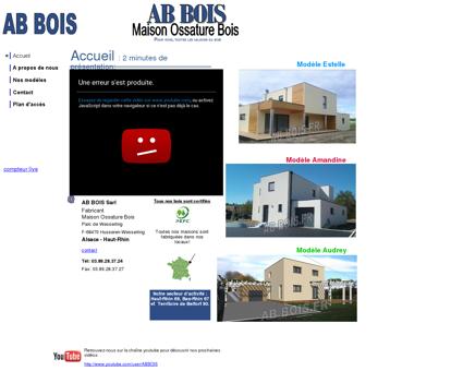 AB BOIS -Maison-Ossature-Bois-Alsace