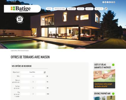 Terrain et maison individuelle | Batige...