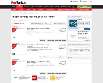 Vente maison Ile-de-France : annonces...