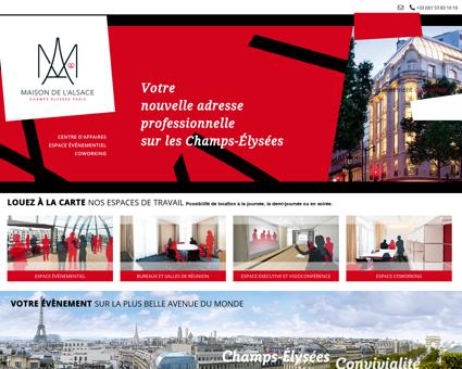 Maison de l'Alsace | La Maison de l'Alsace à Paris