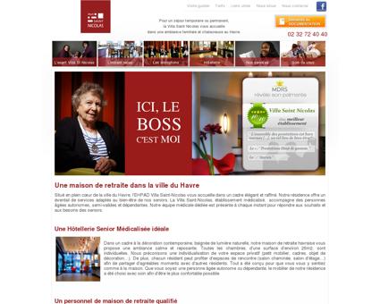 Maison de retraite Le Havre : EHPAD Villa Saint...