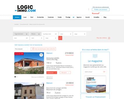 Maison à vendre Tarn et Garonne 82, vente...
