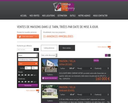 Maisons Tarn | immocompanytarn.fr