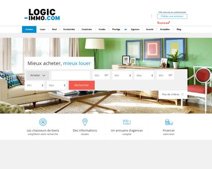Logicimmo.com - Appartements, maisons, terrains...