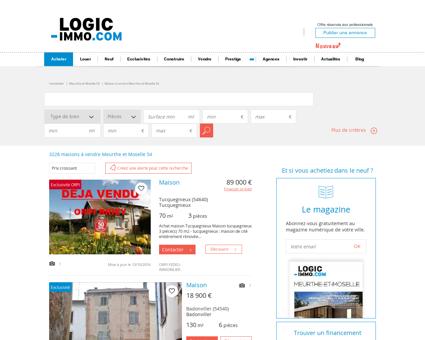 Maison à vendre Meurthe et Moselle 54,...