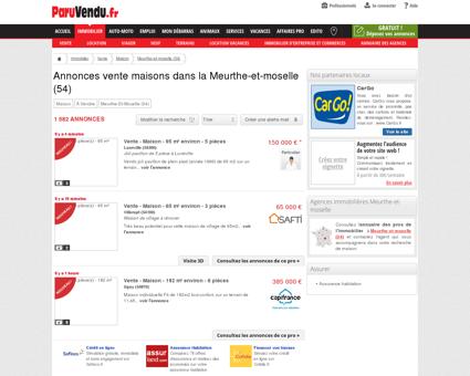Vente maison Meurthe-et-moselle (54) :...