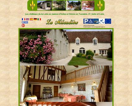Maison d'hotes parmi les chateaux de la Loire...
