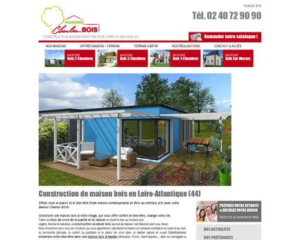 Constructeur maison bois en Loire-Atlantique...