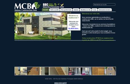 MCB Maison Construction Bois Nord Pas de...