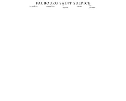 Costumes sur mesure - Faubourg Saint Sulpice