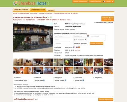 La Maison d'Être, Chambres d'hôtes Saint-Just...