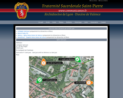 FSSP diocèses de Lyon et Valence - Accès aux...