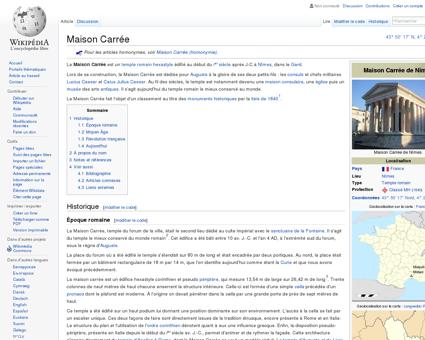 Maison Carrée  Wikipédia