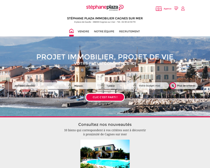 Immobilier Cagnes-sur-Mer   Agence...