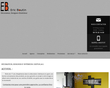 Agence de design Challans - BOUTIN ERIC :...