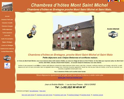 Chambres d'hôtes en Baie du Mont Saint...