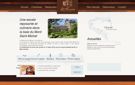 Restaurant & chambres à Cancale - Maison de...