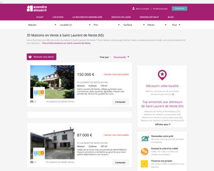 Vente Maison Saint Laurent de Neste (65) |...