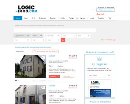 Maison à vendre Saint Pardoux la Riviere...