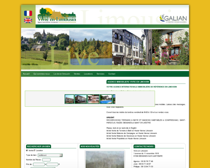 Agence immobilière Live in limousin. Achat et...