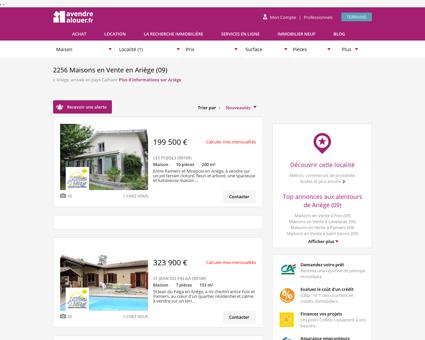 Vente Maison Ariège | Acheter Maison Ariège