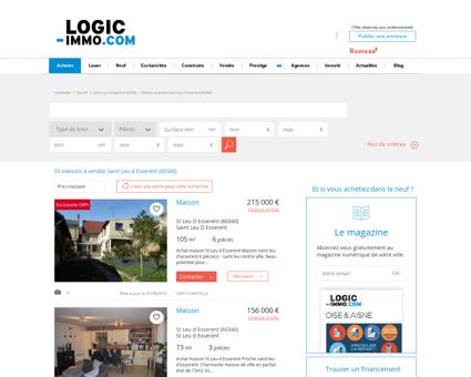 Maison à vendre Saint Leu d Esserent 60340,...