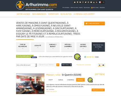 Maison Saint Quentin | arthurimmo-saintquentin.com