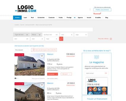 Maison à vendre Saint Quentin 02100, vente...
