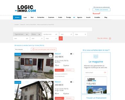 Maison à vendre Saint Cyr l Ecole 78210, vente...