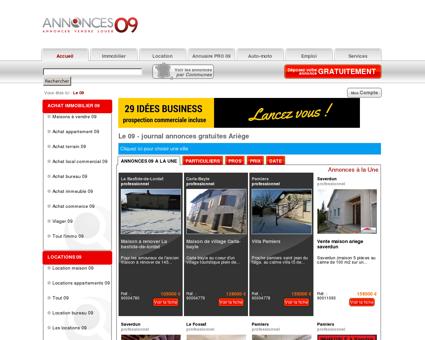Le 09 # Annonces gratuites # Pamiers & Ariège...