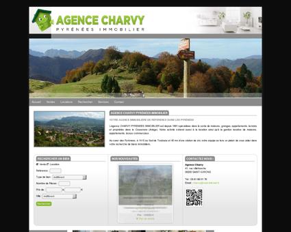 Agence immobilière Charvy Pyrénées à Saint...