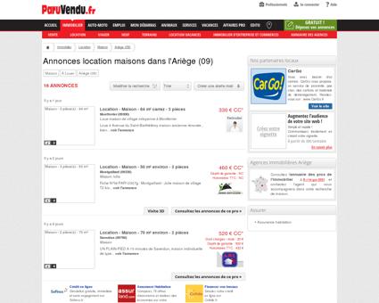 Location maison Ariège (09) : annonces...