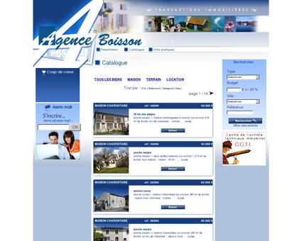 Agence immobilière à Saujon en Charente...