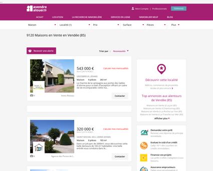 Vente Maison Vendée   Acheter Maison Vendée