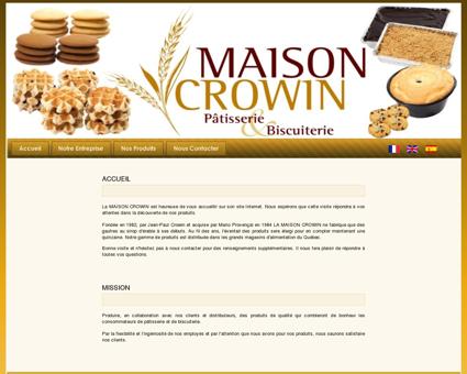 Maison Crowin, St-Rose de Watford biscuiterie...