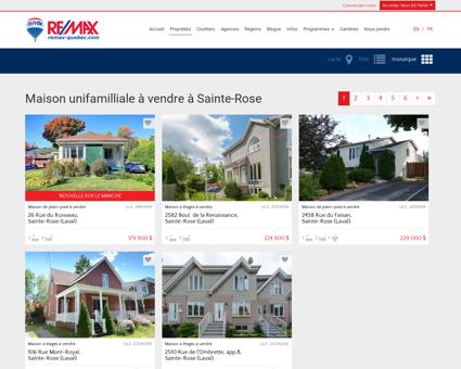 Maison unifamilliale à vendre à Sainte-Rose