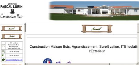 Lorin Pascal construction maison bois :...