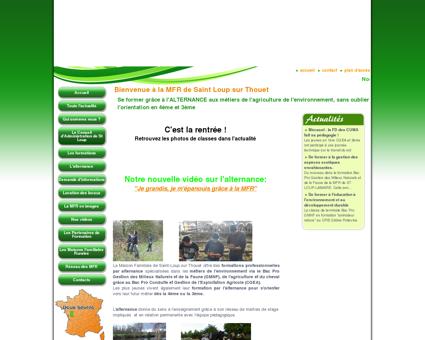 MFR Saint Loup : Formations Bac Pro CGEA :...