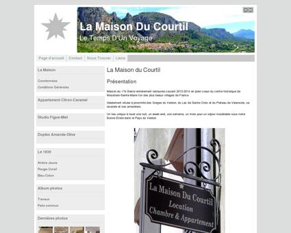 La Maison Du Courtil, Locations & Services...