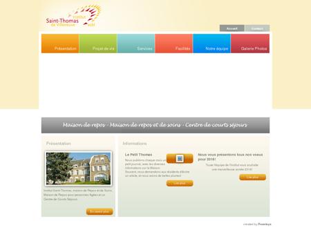 Institut Saint-Thomas - Accueil
